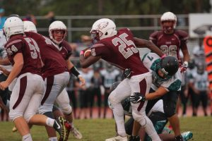 JV football dominates against Coral Glades