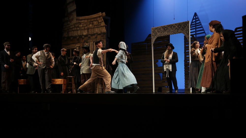 Multimedia Msd Drama Performs Captivating Play Fiddler