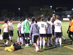 [Brief] Men's varsity soccer defeat Boca Raton High School