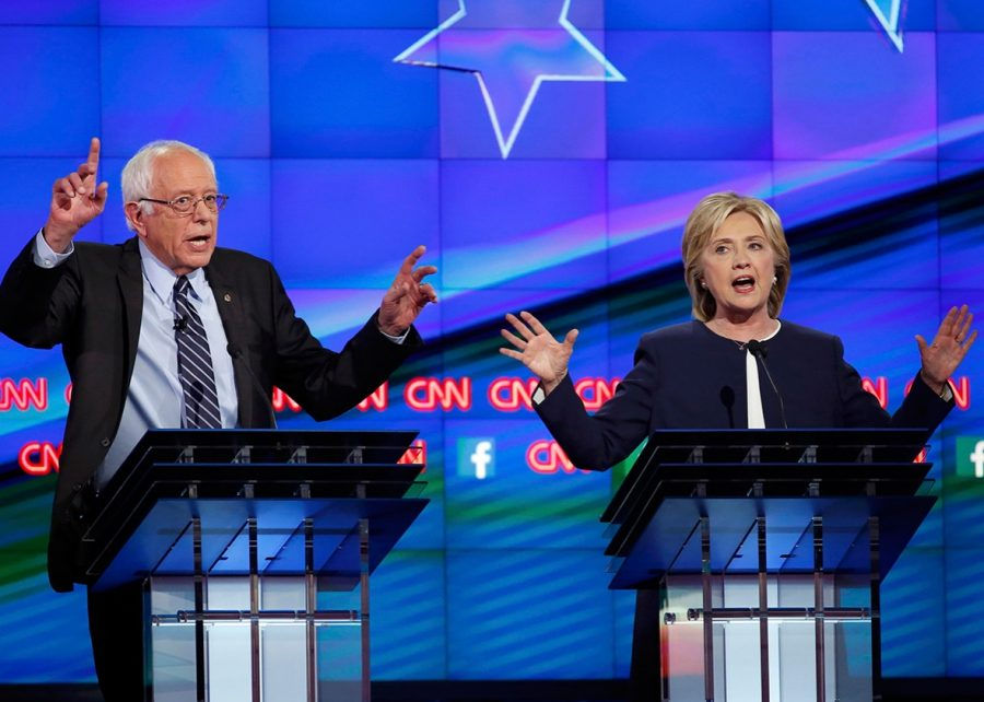 Democratic presidential hopefuls debate Oct. 13.