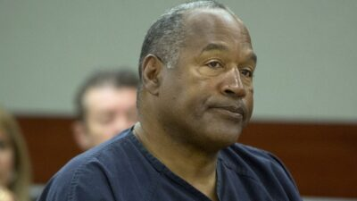 LAS VEGAS, NV - MAY 16:  O.J. Simpson listens to audio recording played during an evidentiary hearing for O.J. Simpson in Clark County District Court in Clark County District Court May 16, 2013 in Las Vegas, Nevada. Simpson, who is currently serving a nine to 33-year sentence in state prison as a result of his October 2008 conviction for armed robbery and kidnapping charges, is using a writ of habeas corpus to seek a new trial, claiming he had such bad representation that his conviction should be reversed. (Photo by Julie Jacobson-Pool/Getty Images/TNS)