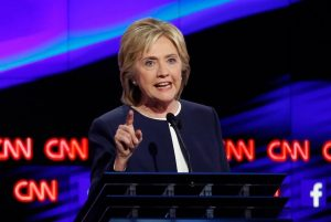 Democratic presidential hopefuls debate Oct. 13.