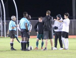 Boys Soccer District Semi-Final Against Delray Atlantic