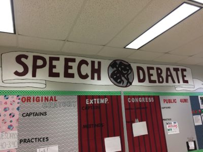 Speech and debate program undergoes changes