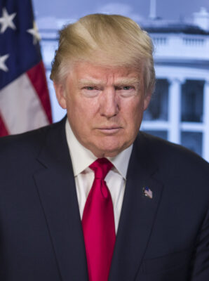 Official portrait of the new 45th President of the United States, Donald J. Trump. (Photo Courtesy of The White House)