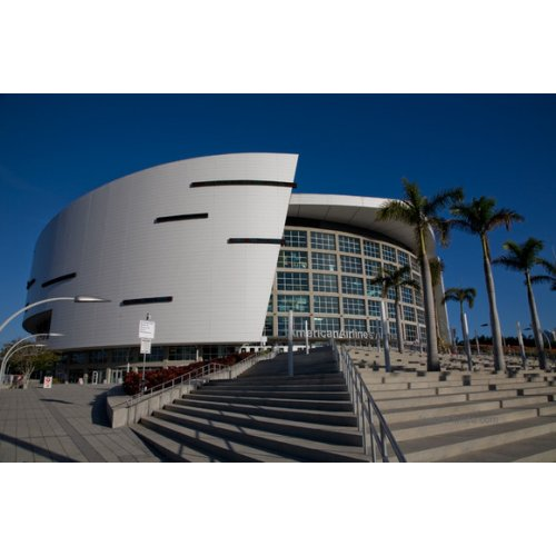 American Airlines Arena heats up