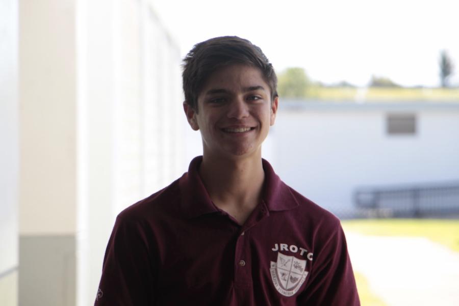 Sophomore Tyler Foran.