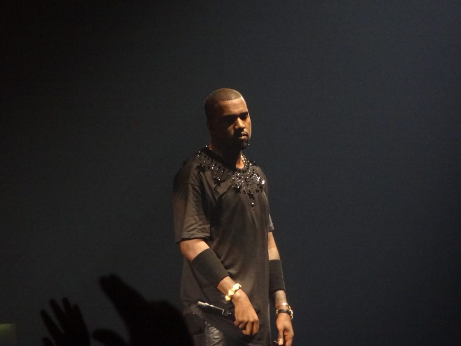 Rapper Kanye West perfroms on stage. Courtesy of Pieter-Jannick Dijkstra