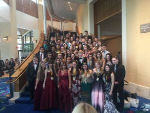 MSD drama attends Cappies