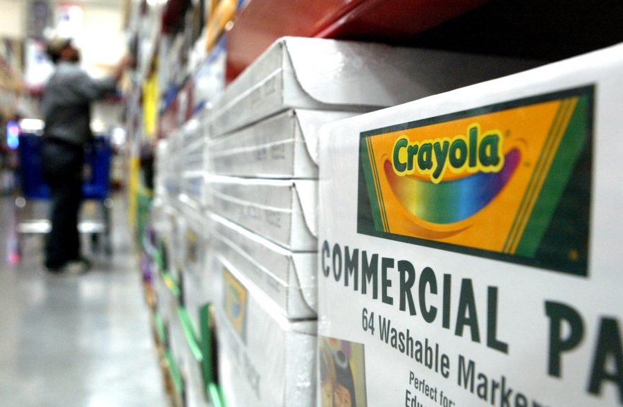 Caryola's new project, Crayola Cycle, starts with a box of normal markers.