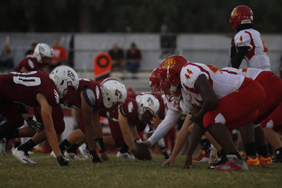 Varsity Football team defeats South Broward High School in Homecoming Game