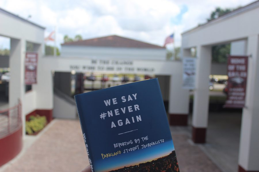 Student journalists collaborate to publish the book: We Say #NeverAgain