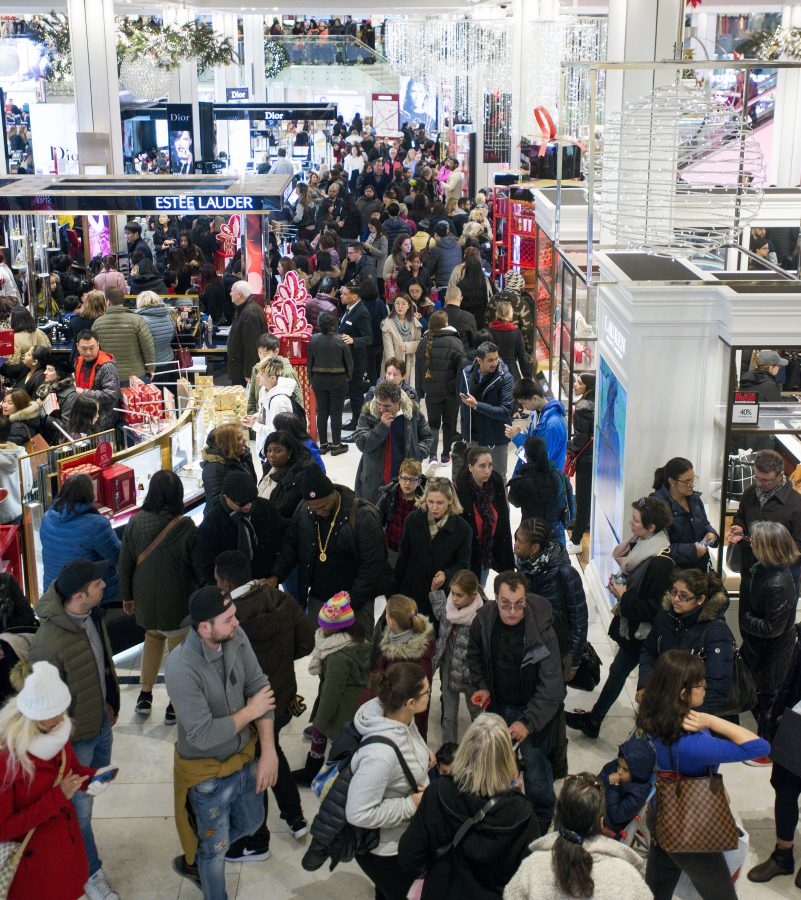 Holiday+Shopping+is+in+full+swing+as+Halloween+is+in+the+rearview.+Black+Friday+shoppers+make+their+way+through+Macy%27s+in+Manhattan%2C+New+York.+Target+Corp.+and+Kohl%C3%A2EUR%28TM%29s+Corp.+were+among+the+retailers+running+%C3%A2EURoeBlack+Friday%C3%A2EUR%C2%9D+preview+sales+on+selected+items+in+stores+and+online%2C+an+early+promotional+tease+to+the+traditional+heavy+shopping+that+occurs+the+Friday+after+Thanksgiving.+%28Howard+Simmons%2FNew+York+Daily+News%2FTNS%29