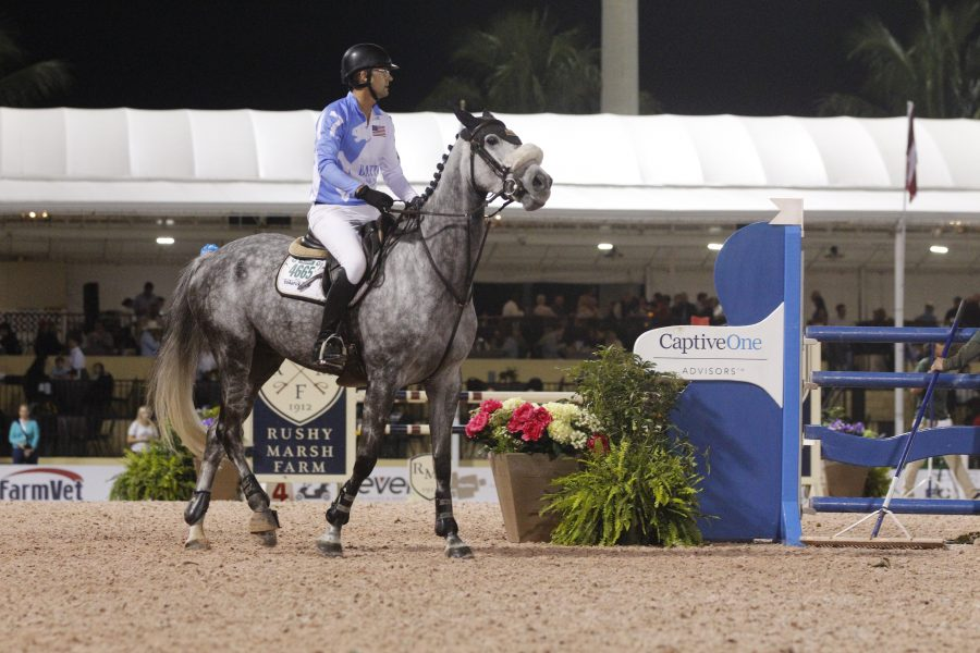 Expert riders from around the world come to the Winter Equestrian Festival. Photo by Samantha Goldblum