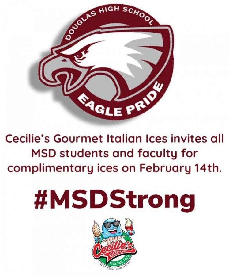 Cecilie%27s+Italian+Ice+offering+free+ices+on+2%2F14
