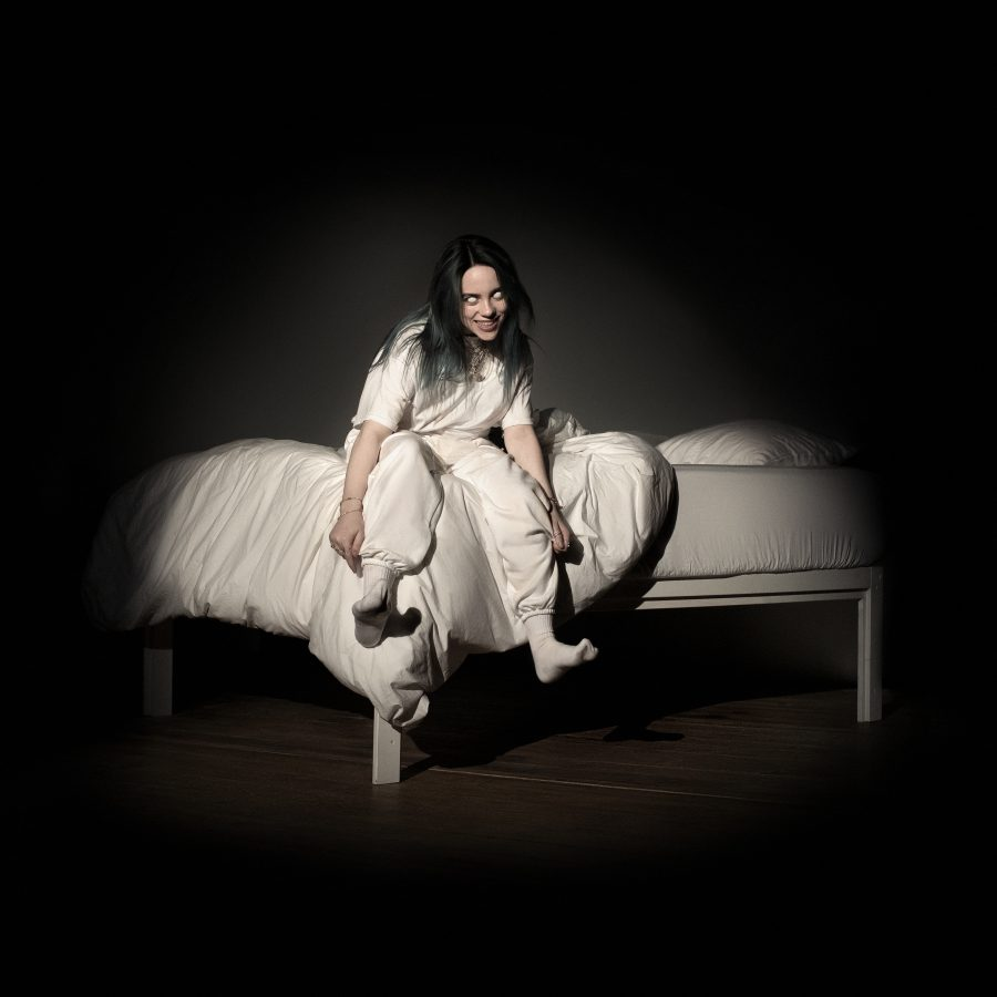 Billie Eilish's cover for her new album