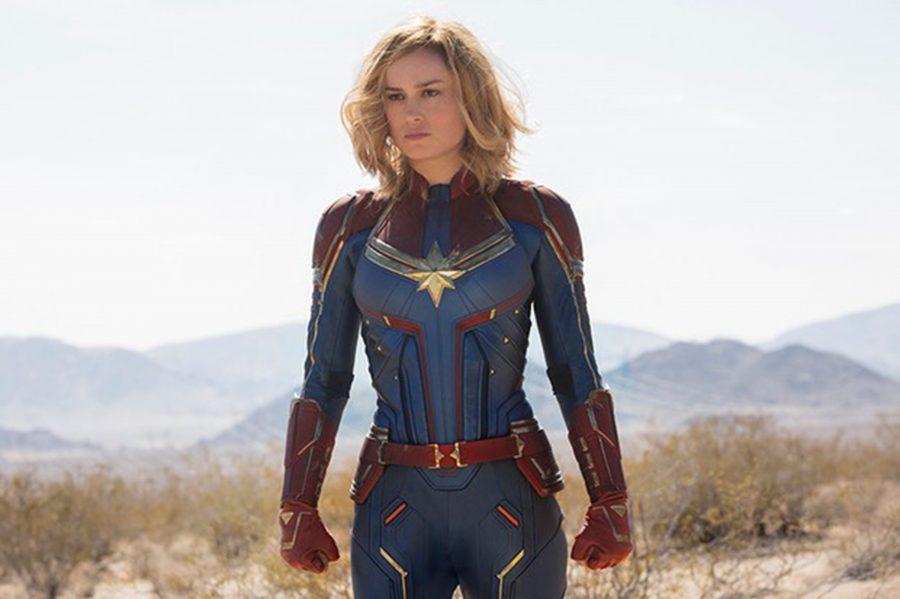 """Brie Larson in """"Captain Marvel."""" (Chuck Zlotnick/Marvel Studios/Walt Disney Studios)"""