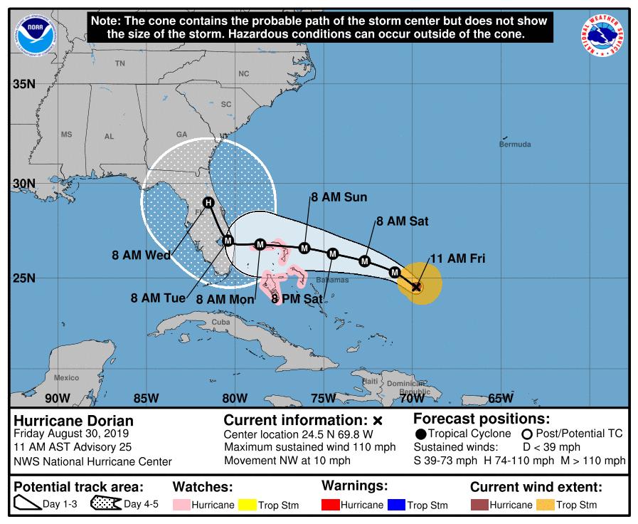 MSD+prepares+for+Hurricane+Dorian
