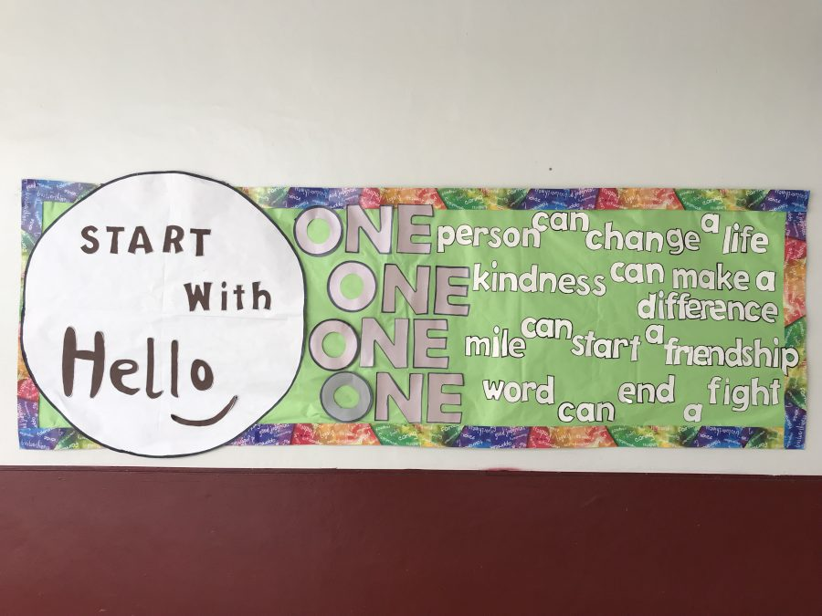 'Start With Hello' week encourages an inclusive environment at MSD