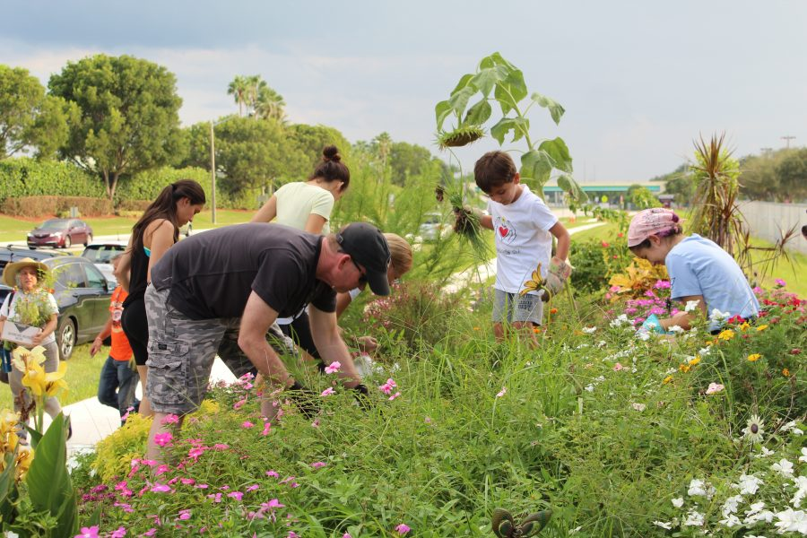 Community comes together to replenish Project Grow Love