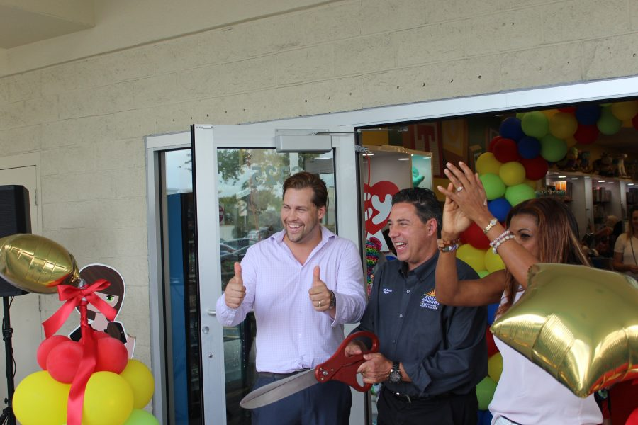 Toy Express hosts grand opening event