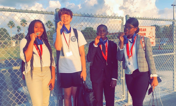MSD Speech and Debate Students Place at First Debate Tournament