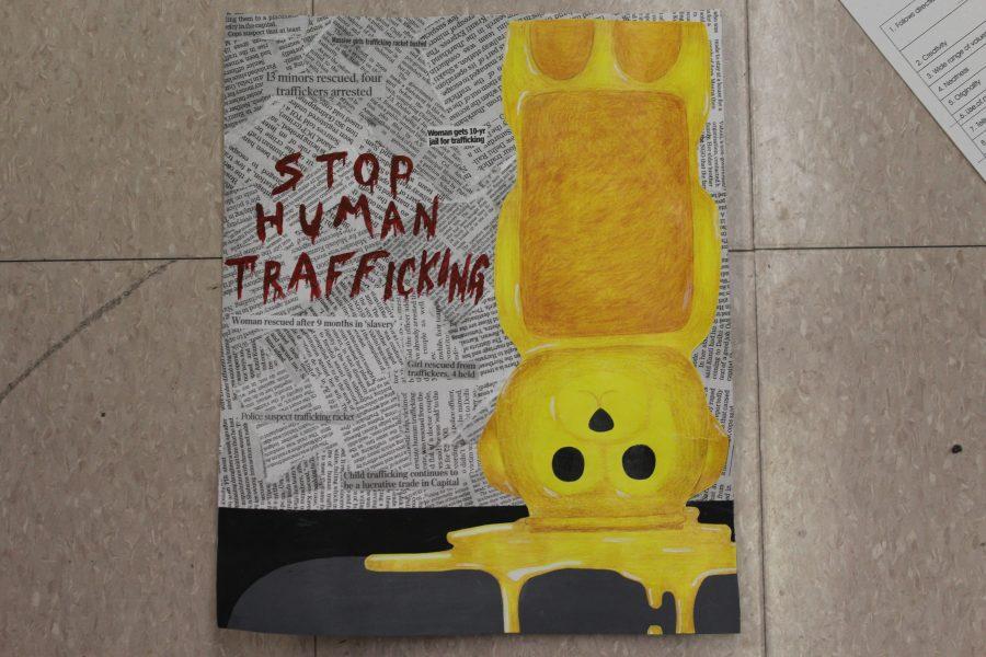 MSD art classes raise awareness for human trafficking