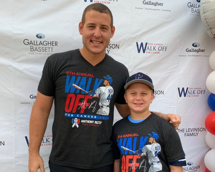 Anthony+Rizzo%27s+hosts+his+8th+Annual+Walk-off+for+Cancer