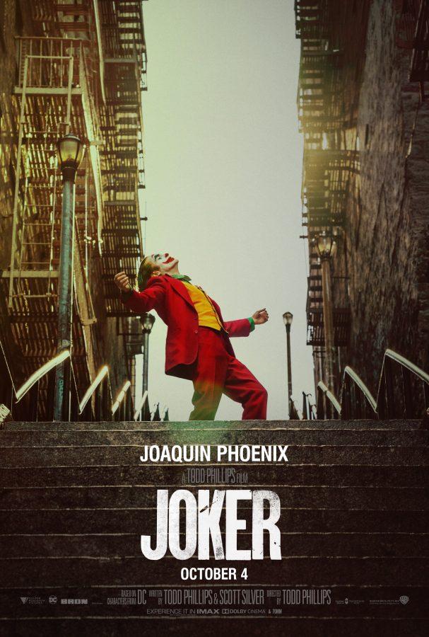 The Joker movie cover.