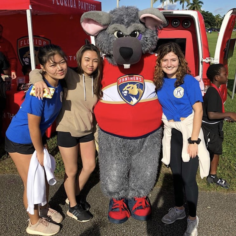 MSD Key Club participates in SOS Walk