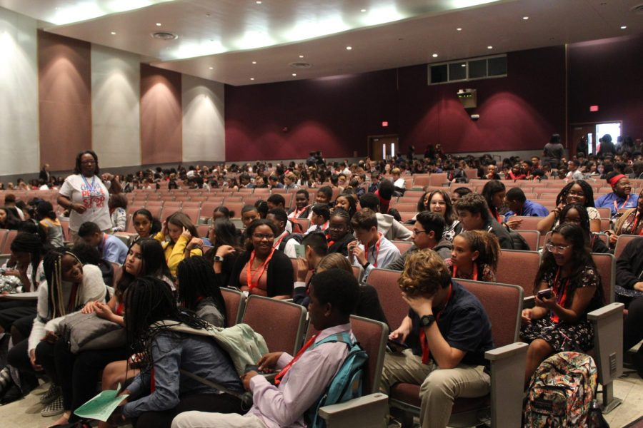 MSD hosts district middle school debate tournament