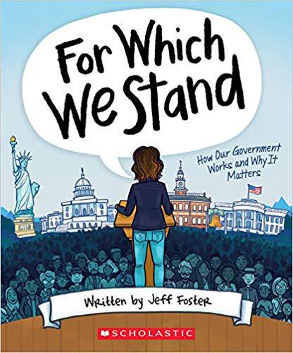 For Which We Stand by Jeff Foster, AP Government teacher, is to be released on Sept. 1.