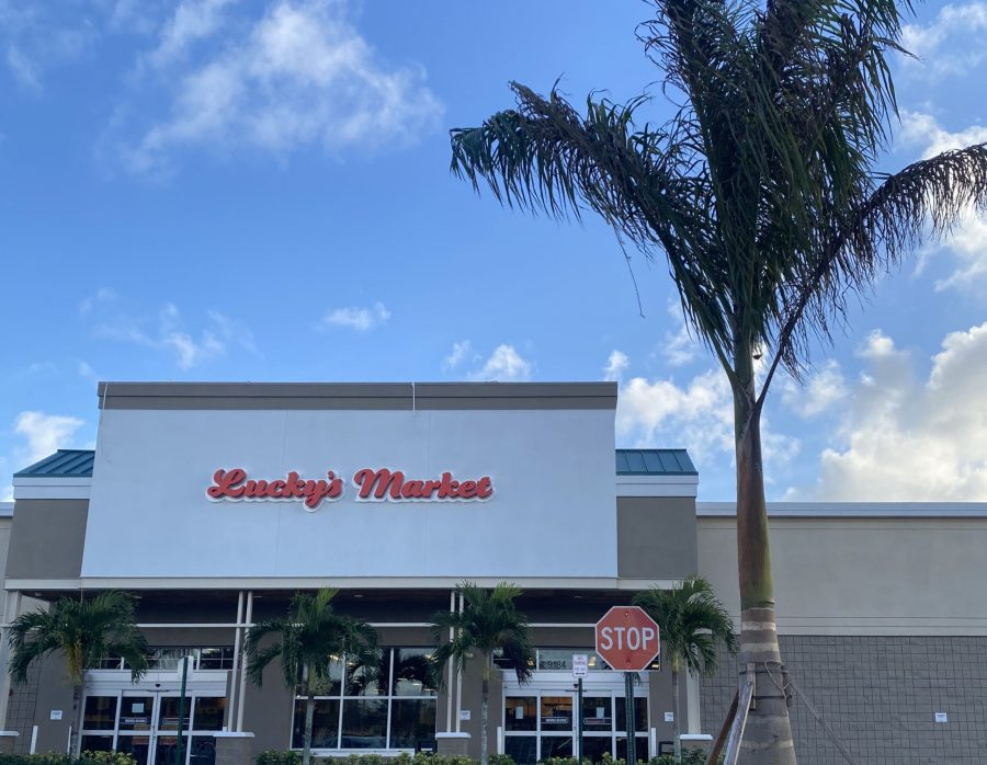 All Lucky' Markets in Florida are now closing down. Photo by Kelly Cooke.