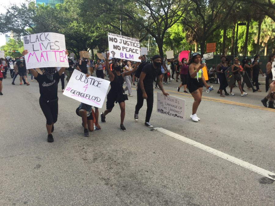 On+May+31%2C+2020%2C+a+protest+took+place+in+Ft.+Lauderdale%2C+Florida+in+honor+of+George+Floyd%2C+a+victim+of+police+brutality.+Photo+By+Anna+Bayuk
