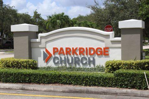 Parkridge Church entrance sign