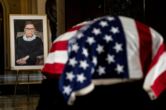 The Life and Legacy of Justice Ruth Bader Ginsburg.