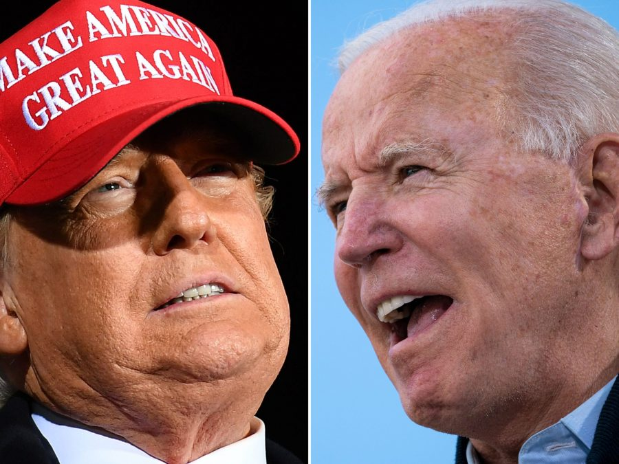 President Trump and former Vice President Joe Biden