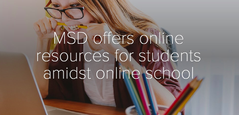 [Multimedia] MSD offers online resources for students amidst online school