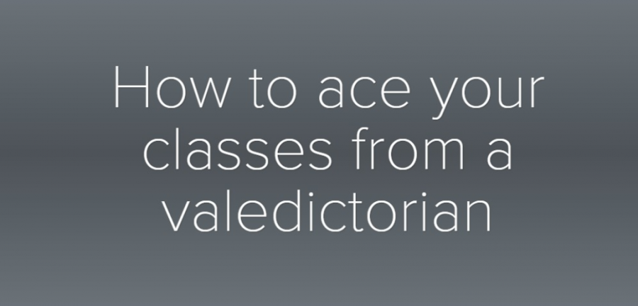 [Multimedia] How to ace your classes from a valedictorian