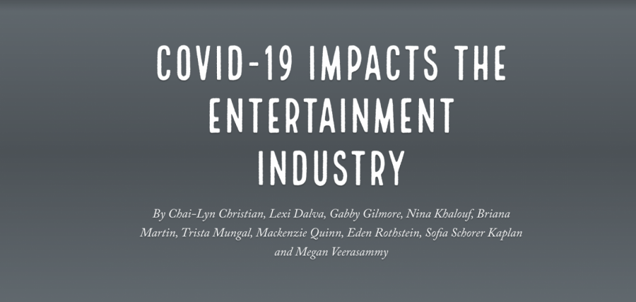 [Multimedia] COVID-19 impacts the entertainment industry