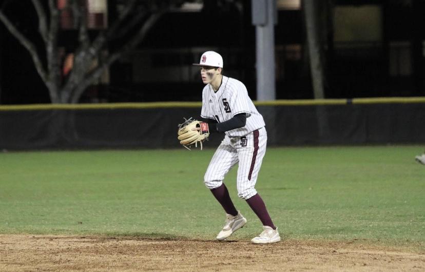 Junior Cameron Harris triumphs throughout his baseball career