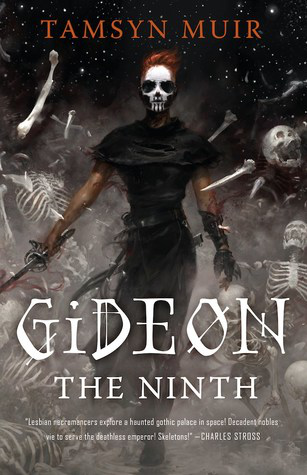 Devil may care. Fluidly swinging her sword, the protagonist Gideon Nav steps resolutely forward while bone and skeleton crumble asunder. In Tamsyn Muir's book Gideon the Ninth, she and her partner-slash-mortal enemy Harrowhark Nonagesimus brave gruesome trials and tribulations. Photo by Sophie Goodman.