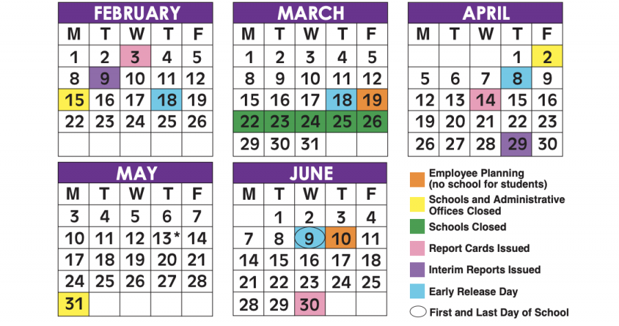 The Broward County school calendar of the 2020-2021 school year, not including testing dates, has been changed by the district. Photo courtesy of Rayne Welser