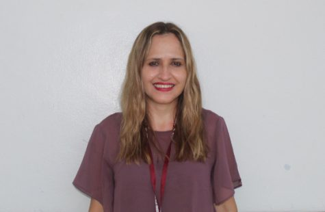 Spanish teacher Luz Aguire joins the foreign language department at Marjory Stoneman Douglas High school for the 2021-2022 school year.
