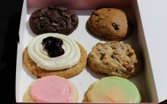 This weeks flavors included Blueberry Cheesecake, Sherbet, Peanut Butter Chip and Pumpkin Chocolate Chip, along with the usual Classic Sugar and Chocolate Chip.