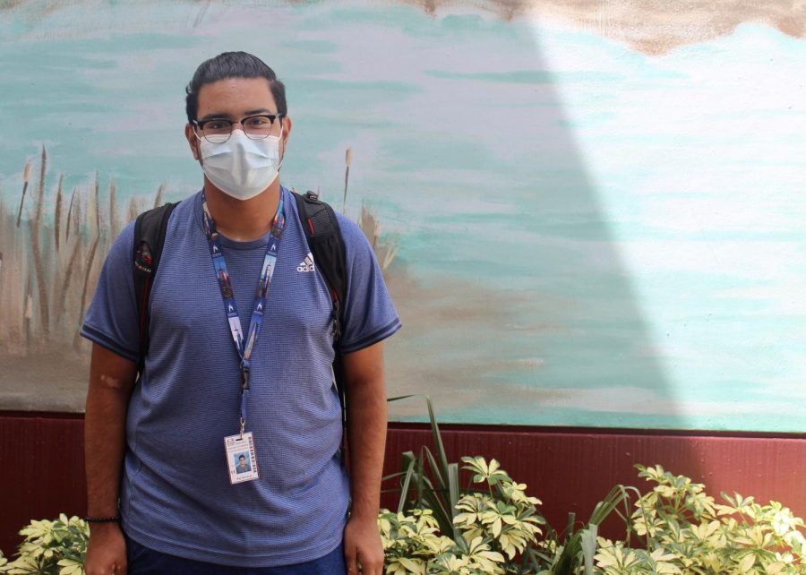 Senior and founder of the Climate Change Club, Raj Selvaraj, cant wait to help make a difference this year.