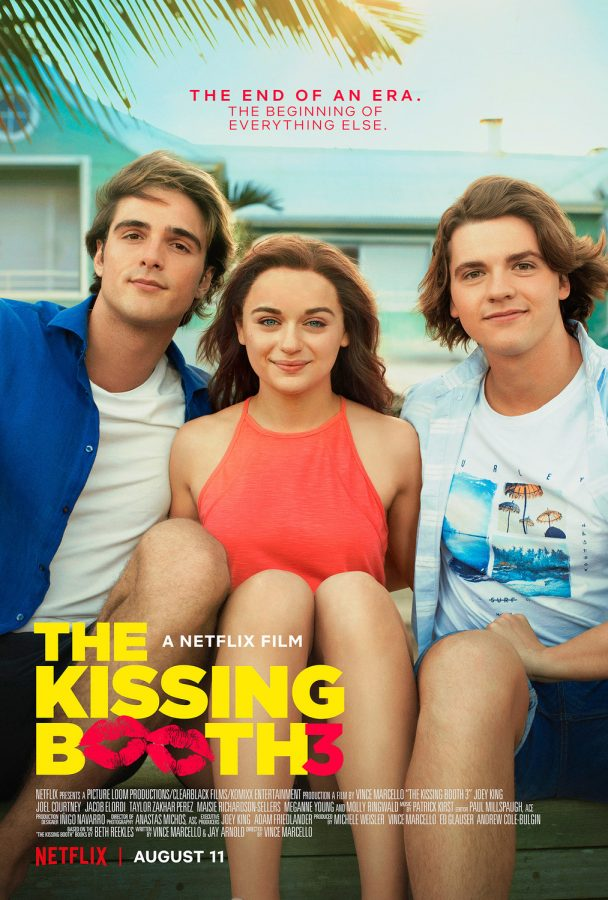 The official poster for The Kissing Booth 3. Photo courtesy of Netflix