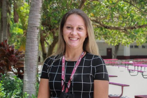 New administrator, Kristine Knapp enjoys her first few weeks at Marjory Stoneman Douglas High School. She looks forward to making connections with the student and helping them succeed.