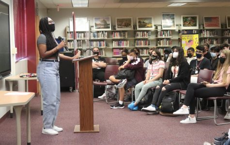 MSD drama department honors the victims of 9/11 through monologue performances