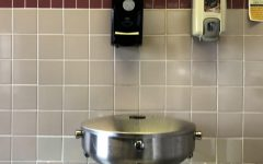 At MSD, students have been stealing school property due to the devious licks TikTok trend. Bathrooms have been targeted the most, specifically soap dispensers.